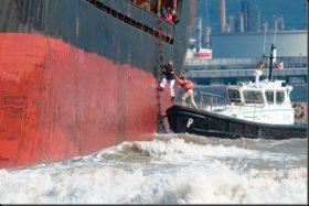 Conciliación obligatoria: el Ministerio de Trabajó ordenó a los patrones fluviales que no restrinjan el ingreso de barcos provenientes de Brasil