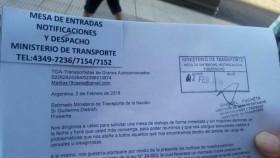 Transportistas autonconvocados: la protesta que nació en Facebook ya tiene su primer petitorio