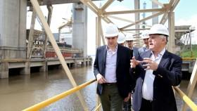 Santa Fe: Peña y Lisfchitz prometieron acompañar el proceso de inversiones portuarias por más de 1110 M/u$s que está instrumentando el sector privado