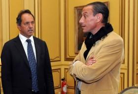 """Propietarios de campos y pobres pagarán el no-ajuste: Scioli pidió """"total tranquilidad"""""""