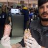 Insólito: en pleno brote asiático de la peste porcina africana un ciudadano chino intentó ingresar a la Argentina una valija con seis patas de cerdo