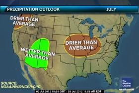 La ola de calor extremo en la principal región maicera estadounidense seguirá toda la semana