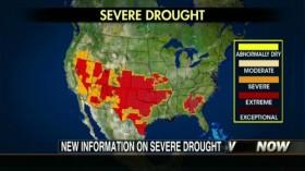 El sueño americano: climatólogos advierten que la sequía estadounidense podría extenderse hasta la siembra del maíz 2013/14