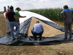 Crecen las exportaciones de silobolsas argentinos con destino al mercado europeo