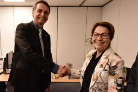 Quién es Tereza Cristina Corrêa da Costa Dias: la ministra de Agricultura elegida por Jair Bolsonaro