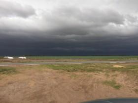 Recién el miércoles de la semana que viene existe probabilidad en la zona pampeana de precipitaciones importantes