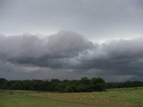 La mayor probabilidad de precipitaciones se presentará en el sur de la región pampeana