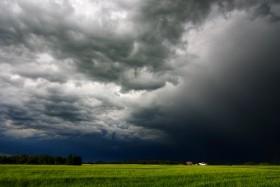 Llegan las lluvias sobre la región central del país: alerta por posibles tormentas fuertes