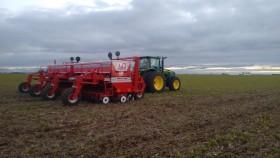 A partir de mañana se vienen varios días sin lluvias para terminar de sembrar lo que falta de trigo en la zona pampeana