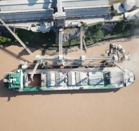 Orgullo: el Gran Rosario es el complejo portuario agroexportador más importante del mundo