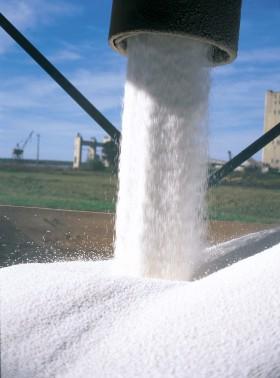 Fuerte ajuste del precio de exportación de la urea granulada