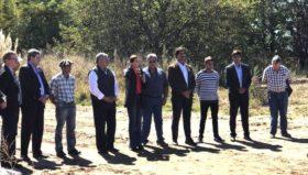 """Vidal prometió que """"la provincia va a postergar o eximir pagos de impuestos"""" a los productores afectados por la sequía"""