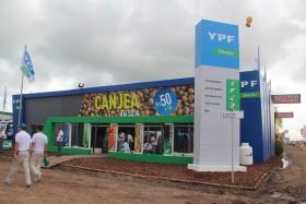 La recepción de granos por parte de YPF para canjear por insumos agropecuarios creció más del 51% en el último año