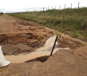 Alerta caminos rurales: las lluvias abundantes seguirán por dos días más