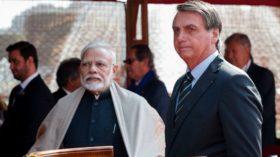 Brasil busca una mayor integración comercial con India para diversificar el riesgo de una excesiva concentración de ventas en China