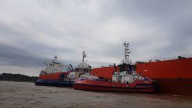 Alerta comercial: restringen cupos de maíz por un buque encallado en el Paraná a la altura de Alvear
