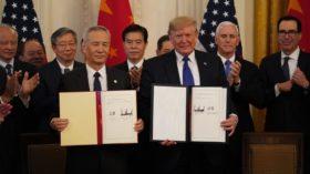 Sorpresa: la soja quedó afuera del acuerdo comercial firmado entre EE.UU. y China