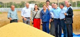 """Dilma inauguró la cosecha brasileña 2013/14: """"Buscamos que la productividad del campo se traslade a todos los sectores del país"""""""