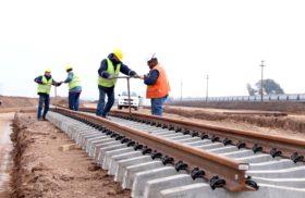Avanzan las obras que permitirán conectar al ferrocarril Belgrano Cargas de manera directa con los puertos del Gran Rosario