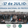 Productores de todo el país vuelven a las rutas: la protesta como último recurso antes de desaparecer a causa de una presión impositiva récord